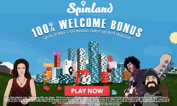 spinland casino bonus